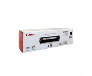 Canon Cartridge 416 (1980B004AA) Black Genuine Original Printer Toner Cartridge