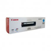 Canon Cartridge 416 (1979B004AA) Cyan Genuine Original Printer Toner Cartridge