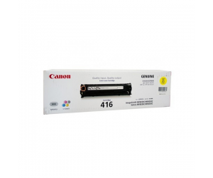 Canon Cartridge 416 (1977B004AA) Yellow Genuine Original Printer Toner Cartridge