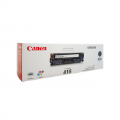 Canon Cartridge 418 (2662B007AA) Black Genuine Original Printer Toner Cartridge