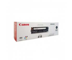 Canon Cartridge 418 (2662B008AA) Black VP Genuine Original Printer Toner Cartridge