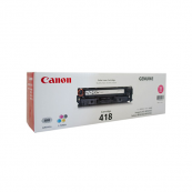 Canon Cartridge 418 (2660B004AA) Magenta Genuine Original Printer Toner Cartridge