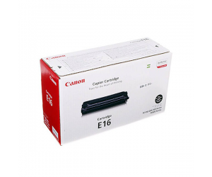 Canon Cartridge E16 (1492A013BA) Black Genuine Original Printer Toner Cartridge