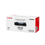 Canon Cartridge FX12 (1153B003AA) Black Genuine Original Printer Toner Cartridge