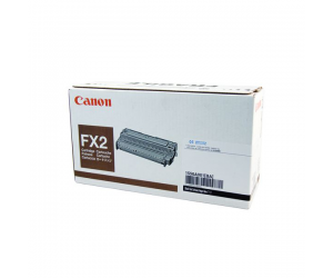 Canon Cartridge FX2 (1556A001BA) Black Genuine Original Printer Toner Cartridge