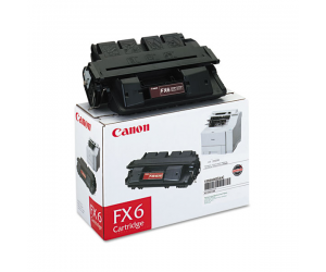 Canon Cartridge FX6 (1559A001AA) Black Genuine Original Printer Toner Cartridge