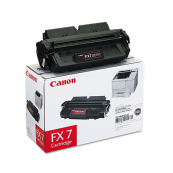Canon Cartridge FX7 (7621A003AA) Black Genuine Original Printer Toner Cartridge