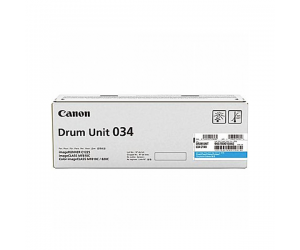 Canon Cartridge 034 (9457B001AA) Cyan Genuine Original Printer Drum Cartridge