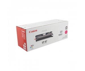 Canon EP-87 (7431A004BA) Magenta Genuine Original Printer Toner Cartridge
