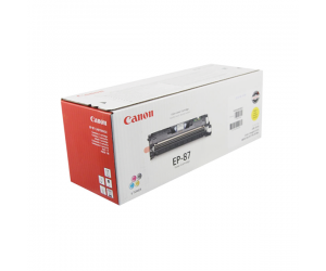 Canon EP-87 (7430A004BA) Yellow Genuine Original Printer Toner Cartridge