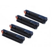 TonerGreen Cartridge 312 (1870B003AA) Black Compatible Printer Toner Cartridge Super Pack 4X
