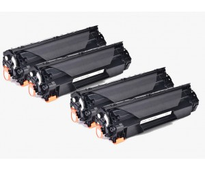 TonerGreen Cartridge 328 (3500B003AA) Black Compatible Printer Toner Cartridge Super Pack 4X