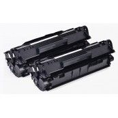 TonerGreen Cartridge 303 (7616A004AA) Black Compatible Printer Toner Cartridge Value Pack 2X