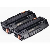 TonerGreen Cartridge 308 (0266B003AA) Black Compatible Printer Toner Cartridge Value Pack 2X