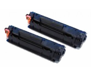 TonerGreen Cartridge 312 (1870B003AA) Black Compatible Printer Toner Cartridge Value Pack 2X
