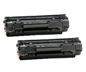 TonerGreen Cartridge 313 (1871B003AA) Black Compatible Printer Toner Cartridge Value Pack 2X