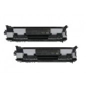 TonerGreen Cartridge 319 (3479B003AA) Black Compatible Printer Toner Cartridge Value Pack 2X