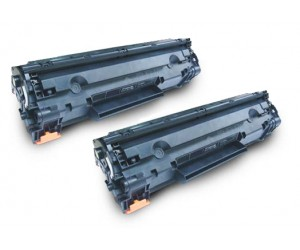 TonerGreen Cartridge 325 (3484B003AA) Black Compatible Printer Toner Cartridge Value Pack 2X