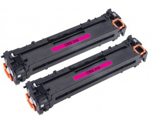TonerGreen Cartridge 316 (1978B003AA) Magenta Compatible Printer Toner Cartridge Value Pack 2X