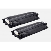 TonerGreen Cartridge E16 (1492A013BA) Black Compatible Printer Toner Cartridge Value Pack 2X