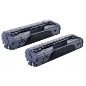 TonerGreen Cartridge EP-22 (1550A001AA) Black Compatible Printer Toner Cartridge Value Pack 2X