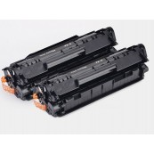 TonerGreen Cartridge FX-9 (0263B003BA) Black Compatible Printer Toner Cartridge Value Pack 2X