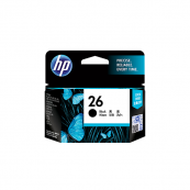 HP 51626AA 26 Black (Large) Genuine Original Printer Ink Cartridge