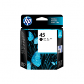 HP 51645AA 45 Black (Large) Genuine Original Printer Ink Cartridge
