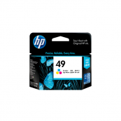 HP 51649AA 49 Tri-Colour Genuine Original Printer Ink Cartridge