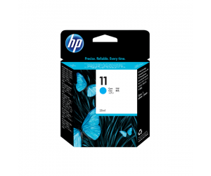 HP C4836A 11 Cyan Genuine Original Printer Ink Cartridge