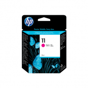 HP C4837A 11 Magenta Genuine Original Printer Ink Cartridge