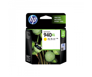 HP C4909AA 940XL Yellow Genuine Original Printer Ink Cartridge