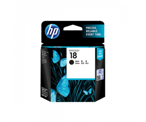 HP C4936A 18 Black Genuine Original Printer Ink Cartridge