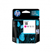 HP C4938A 18 Magenta Genuine Original Printer Ink Cartridge