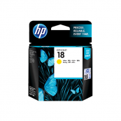 HP C4939A 18 Yellow Genuine Original Printer Ink Cartridge