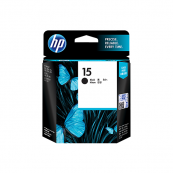 HP C6615DA 15 Black Genuine Original Printer Ink Cartridge
