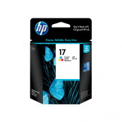 HP C6625A 17 Tri-Colour Genuine Original Printer Ink Cartridge