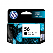 HP C6656AA 56 Black Genuine Original Printer Ink Cartridge