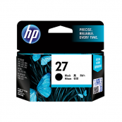 HP C8727AA 27 Black Genuine Original Printer Ink Cartridge