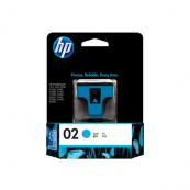 HP C8771WA 02 Cyan Genuine Original Printer Ink Cartridge