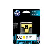 HP C8773WA 02 Yellow Genuine Original Printer Ink Cartridge