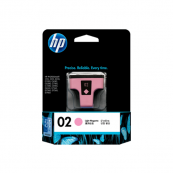 HP C8775WA 02 Light Magenta Genuine Original Printer Ink Cartridge