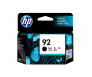 HP C9362WA 92 Black Genuine Original Printer Ink Cartridge