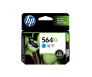 HP CB323WA 564XL Cyan Genuine Original Printer Ink Cartridge