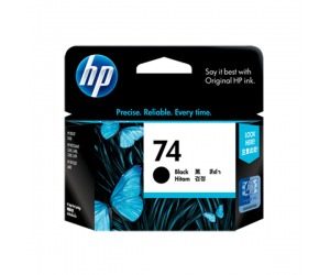 HP CB335WA 74 Black Genuine Original Printer Ink Cartridge