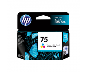 HP CB337WA 75 Tri-Colour Genuine Original Printer Ink Cartridge