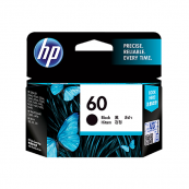 HP CC640WA 60 Black Genuine Original Printer Ink Cartridge