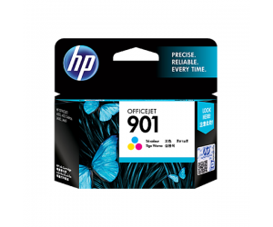 HP CC656AA 901 Tri-Colour Genuine Original Printer Ink Cartridge