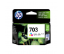 HP CD888AA 703 Tri-Colour Genuine Original Printer Ink Cartridge