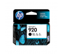 HP CD971AA 920 Black Genuine Original Printer Ink Cartridge